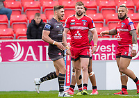 Picture by Allan McKenzie/SWpix.com - 26/04/2018 - Rugby League - Betfred Super League - Salford Red Devils v St Helens - AJ Bell Stadium, Salford, England - Tommy Makinson.