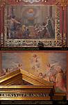 Jubilee Frescoes Christ in the Apse Ascension of Christ Cavaliere d'Arpino Cesare Nebbia Orazio Gentileschi Giovanni Baglione 1599 for Jubilee of 1600 Transept St John in Lateran Rome
