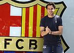 Presentacio de Cesc Fabregas al Camp Nou