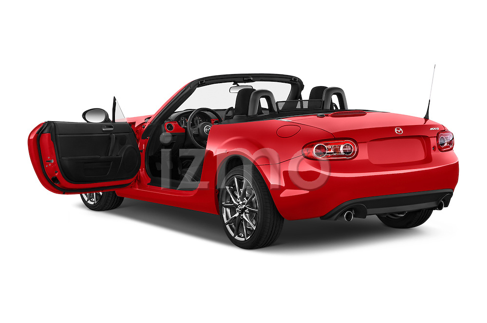 Car images of a 2015 Mazda MX-5 Miata Club Auto 2 Door Convertible Doors