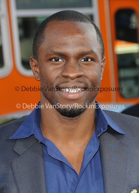 Gbenga Akinnagbe at the Warner Bros' Pictures World Premiere of Lottery Ticket held at The Grauman's Chinese Theatre in Hollywood, California on August 12,2010                                                                               © 2010 Debbie VanStory / Hollywood Press Agency