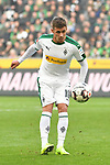 04.11.2018, Borussia Park , Moenchengladbach, GER, 1. FBL,  Borussia Moenchengladbach vs. Fortuna Duesseldorf,<br />  <br /> DFL regulations prohibit any use of photographs as image sequences and/or quasi-video<br /> <br /> im Bild / picture shows: <br /> Thorgan Hazard (Gladbach #10),  Einzelaktion, Ganzk&ouml;rper / Ganzkoerper,  <br /> <br /> Foto &copy; nordphoto / Meuter