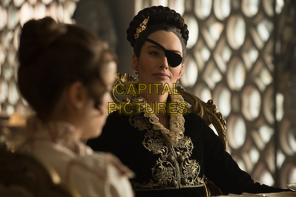 Pride and Prejudice and Zombies (2016) <br /> Lena Headey as Lady Catherine de Bourgh<br /> *Filmstill - Editorial Use Only*<br /> CAP/KFS<br /> Image supplied by Capital Pictures