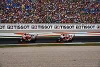 Moto GP race in Valencia in 2017 with Marc Marquez winner the third championship. Pedrosa winner the race. /NortePhoto.com