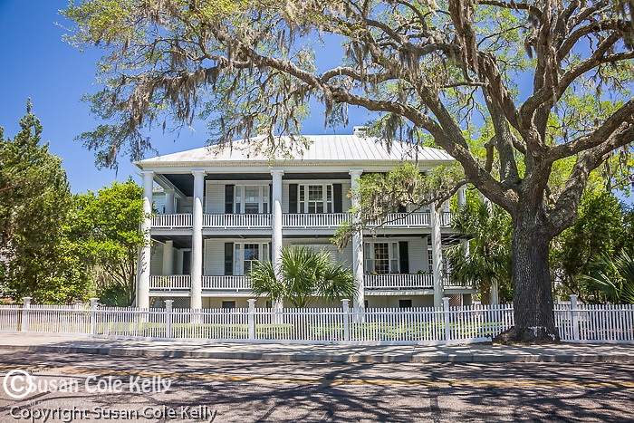 John Joyner Smith House - circa 1785, a lovely antebellum home in Beaufort, SC, a National Historic District.