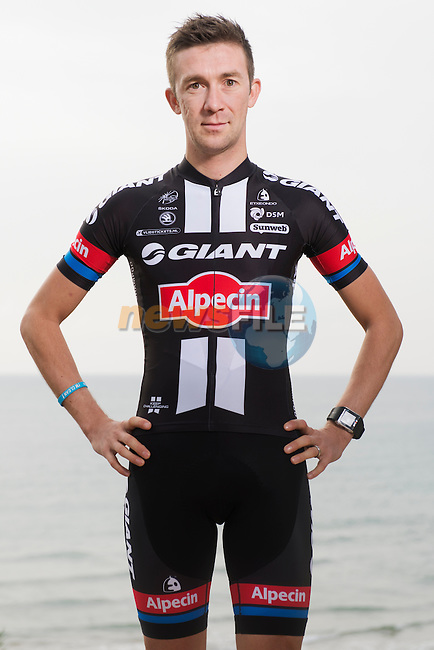 Thierry Hupond Team Giant-Alpecin training camp held around Cambrils, Spain. 26 Janiuary 2015<br /> Photo: Team Giant-Alpecin/www.newsfile.ie
