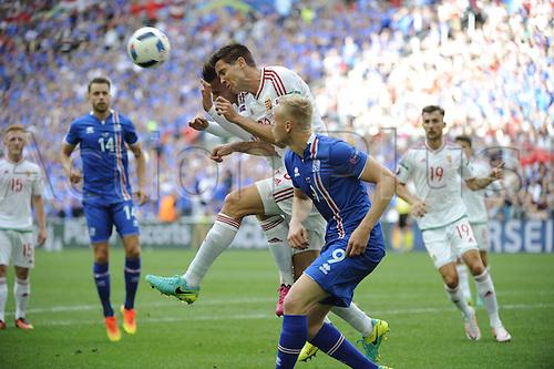 18.06.2016, Stade Velodrome, Marseille, FRA, UEFA European football Championships Group F. Iceland versus Hungary. Nagy (hun)