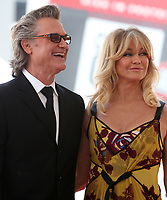 MAY 04 Goldie Hawn And Kurt Russell Honored With Double Star Ceremony