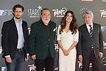 Juan Diego Botto, Adriana Ugarte, Adrian Solar and Enrique Cerezo attend the Platino Awards Of Iberoamerican Cinema at Hotel Ritz, Madrid,  Spain. March 09, 2015.(ALTERPHOTOS/)Carlos Dafonte)