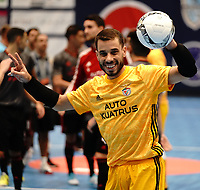 20191010 - HALLE: Benfica's Andre Sousa is pictured after the UEFA Futsal Champions League Main Round match between Araz Naxcivan and SL Benfica on 10th October 2019 at De Bres Sportcomplex, Halle, Belgium. PHOTO SPORTPIX | SEVIL OKTEM