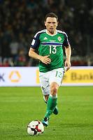 Corry Evans (Nordirland, Northern Ireland)- 11.10.2016: Deutschland vs. Nordirland, HDI Arena Hannover, WM-Qualifikation Spiel 3