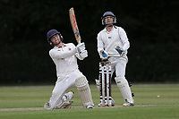 Jack Hebron hits 6 runs for Brentwood during Brentwood CC vs Ilford CC, Shepherd Neame Essex League Cricket at The Old County Ground on 8th June 2019