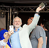 Jeremy Corbyn, leader of the Labour Party speaks at The People's Assembly - Not One Day More -  National Demonstration Parliament Square, London, Great Britain <br /> 1st July 2017 <br /> <br /> <br /> <br /> <br /> Photograph by Elliott Franks <br /> Image licensed to Elliott Franks Photography Services