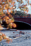 Rowing, the Head of the Charles Regatta, Cambridge, Massachusetts, New England, USA, men's eight oared racing shells,
