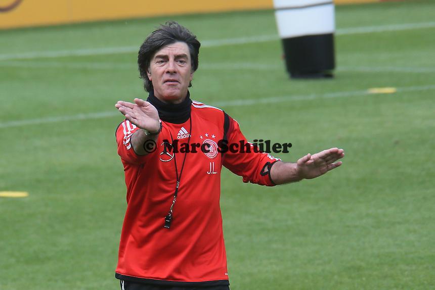 Bundestrainer Joachim Löw  - Abschlusstraining der Deutschen Nationalmannschaft  im Rahmen der WM-Vorbereitung in St. Martin