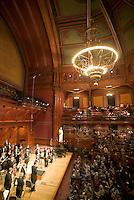 Orchestra at Sanders Theater, Harvard, Cambridge, MA Landmark Orchestra