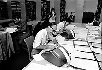 MONTREAL, CANADA - File Photo - Montreal School Board Election, July 18, 1973.<br /> <br /> File Photo : Agence Quebec Presse - Alain Renaud