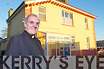 Canon Declan O'Connor outside the newly refurbished parish office beside the church in Listowel.