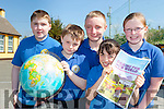 Pupils from Loughfouder NS Knocknagoshel whose project has made it to the final of the Caring for Our World competition front row l-r: Daniel Ahern, Sean Keane,  Kelly-ann Nix, Dara Culhane, Katelyn Curtin