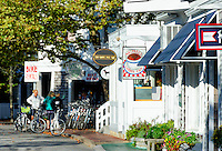 Quaint shops, Edgartown, Martha's Vineyard, Massachusetts, USA