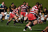 Counties Manukau B's vs Wellington rugby match played at Growers Stadium on Saturday September 6th 2008..Wellington won 22 - 10 after Counties Manukau lead 10 - 5 at halftime .