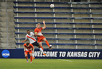 Kansas City, Kansas - Friday, December 11, 2015: Clemson defeats Syracuse 4-1 on penalty kicks in NCAA D1 Men's Soccer Semifinal play and advance to the 2015 College Cup Final at Sporting Park.