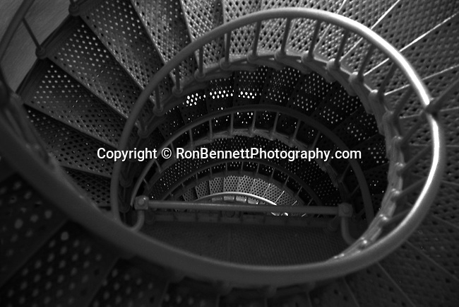 Lighthouse stairs, stairs, medal circular stairs, circular stairs,  Lighthouse stairs, stairs, San Felipe Mexico a remote desert community, Sea of Cortez prolific salt-water habitat with sport fishing, San Felipe was founded in 1916 as a commercial fishing port with a Shrimp fishing fleet, Mexico, United Mexico States, Estados Unidos Mexicanos, Spanish, North America, bordered by the United States, Pacific Ocean, Guatemala, Belize, Caribbean Sea, Gulf of Mexico, Thirty-one states ad Federal District, Olmec, the Toltec, the Teotihuacan, the Maya, the Aztec, Anthem Himno Nactional Mexicano, Mexico City, Federal presidential republic, September 15, 1810, SPAIN, Fine Art Photography by Ron Bennett, Fine Art, Fine Art photography, Art Photography, Copyright RonBennettPhotography.com ©