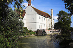 Saint Peter´s brewery and restaurant in old moated farmhouse, St Peter´s Hall, St Peter South Elmham, Bungay, Suffolk, England