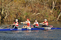 098 .WRC-Smith .W.ELI.4- .Wallingford RC. Wallingford Head of the River. Sunday 27 November 2011. 4250 metres upstream on the Thames from Moulsford railway bridge to Oxford Universitiy's Fleming Boathouse in Wallingford. Event run by Wallingford Rowing Club..