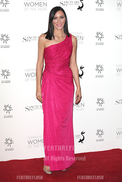Linzi Stoppard arriving for the Daily Mail Inspirational Women of the Year Awards in support of Wellbeing of Women held at the Marriott Hotel, London. 12/11/2012 Picture by: Alexandra Glen / Featureflash
