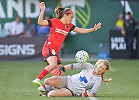 Portland, Oregon - Sunday September 4, 2016: during a regular season National Women's Soccer League (NWSL) match at Providence Park.