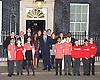 No 10 Sports Relief Reception 15th March 2016