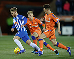 09.02.2019: Kilmarnock v Rangers : Conor McAleny with Ross McCrorie and Ryan Jack