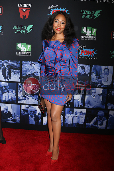 """Simone Missick<br /> at """"Excelsior! A Celebration of the Amazing, Fantastic, Incredible & Uncanny Life of Stan Lee,"""" TCL Chinese Theater, Hollywood, CA 01-30-19<br /> David Edwards/DailyCeleb.com 818-249-4998"""