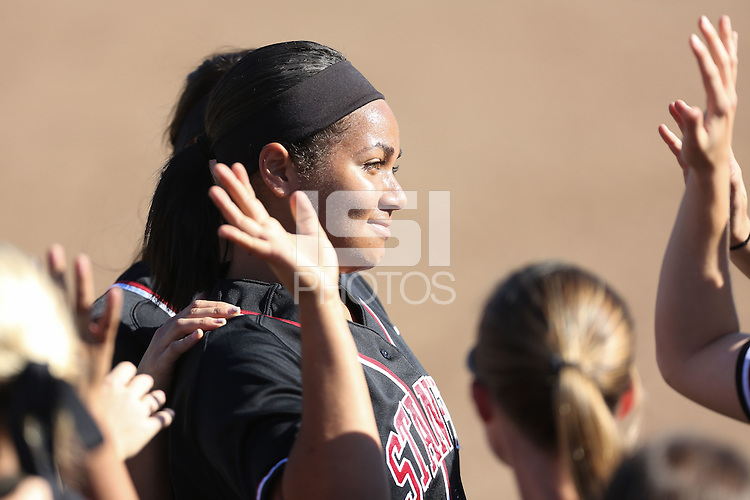 STANFORD, CA - FEBRUARY 14, 2015 - Stanford defeats visiting Alabama at Smith Family Stadium at the Nike Invitational.
