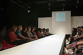 Waiting for the show to begin, Fashion Show at Further Education College.