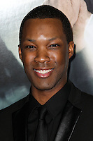 "WESTWOOD, CA, USA - FEBRUARY 24: Corey Hawkins at the World Premiere Of Universal Pictures And Studiocanal's ""Non-Stop"" held at Regency Village Theatre on February 24, 2014 in Westwood, Los Angeles, California, United States. (Photo by Xavier Collin/Celebrity Monitor)"