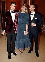 12 March 2019 - London, England - Josh Hartnett, Tamsin Egerton and Benedict Cumberbatch during a dinner to celebrate The Princes Trust at Buckingham Palace in London. The Prince of Wales, President, The Princes Trust Group hosted a  dinner for donors, supporters and ambassadors of Princes Trust International. Photo Credit: ALPR/AdMedia