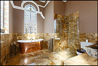 BNPS.co.uk (01202 558833)<br /> Pic: Strutt&amp;Parker/BNPS<br /> <br /> Take me to church...<br /> <br /> A seasoned property renovator has spent four years and hundreds of thousands transforming a Methodist chapel into a divine home - now on the market for &pound;1.5million.<br /> <br /> Mark Hinchliffe bought the Grade II listed church and the neighbouring Sunday school in Harrogate, Yorks, from the Methodist Council in 2013.<br /> <br /> He had to sell his own home and get a loan to buy the building and converted the Sunday school into a four-bedroom home first then sold it to fund work on the chapel, which would be his home.<br /> <br /> Mr Hinchliffe saved key features of the historic building in the heavenly conversion and even caught the eye of architect and TV presenter George Clarke, who featured the project on his Channel 4 show Restoration Man.