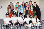 The leadng cast members at the Currow NS Parents Association production of Aladdin in Killarney Racecourse on Sunday