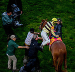 May 4, 2019 : #20 Country House, ridden by Flavien Prat, wins the 145th Kentucky Derby based on a jockey's objection on Kentucky Derby Day at Churchill Downs on May 4, 2019 in Louisville, Kentucky. John Voorhees/Eclipse Sportswire/CSM