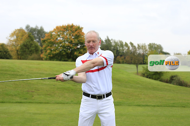 Intsruction shoot with John Kelly and Gordon<br /> Picture Fran Caffrey   Golffile