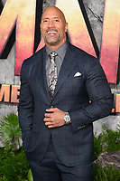 Dwayne Johnson<br /> arriving for the &quot;Jumanji: Welcome to the Jungle&quot; premiere at the Vue West End, Leicester Square, London<br /> <br /> <br /> &copy;Ash Knotek  D3358  07/12/2017