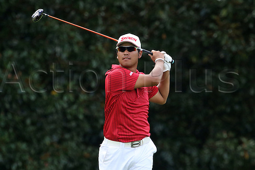 22.09.2016. Atlanta, Georgia, USA.  Hideki Matsuyama (co-leader at -4) the opening round of the 2016 PGA Tour Championship at East Lake Golf Club in Atlanta, Georgia.