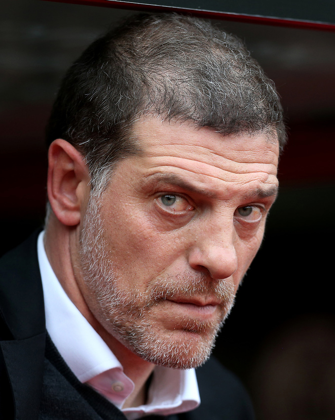 West Ham United manager Slaven Bilic<br /> <br /> Photographer Rob Newell/CameraSport<br /> <br /> The Premier League - Crystal Palace v West Ham United - Saturday 28th October 2017 - Selhurst Park - London<br /> <br /> World Copyright &copy; 2017 CameraSport. All rights reserved. 43 Linden Ave. Countesthorpe. Leicester. England. LE8 5PG - Tel: +44 (0) 116 277 4147 - admin@camerasport.com - www.camerasport.com