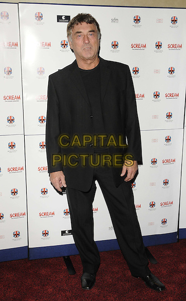 "Billy Murray .attended the ""Stalker"" UK film premiere, Empire cinema, Leicester Square, London, England, 15th October 2011..full length black pinstripe suit jacket t-shirt .CAP/CAN.©Can Nguyen/Capital Pictures."