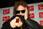 "Mick Rock attends Ray-Ban ""Never Hide"" Advertising Campaign Launch at Guastavino's in New York City, New York on Wednesday, March 7, 2007..."