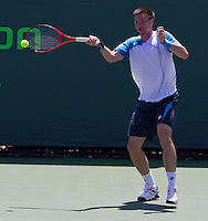 Robin SODERLING (SWE) against Peter LUCZAK (AUS) in the seocnd round of the men's singles. Soderling beat Luczak 7-6 6-0..International Tennis - 2010 ATP World Tour - Sony Ericsson Open - Crandon Park Tennis Center - Key Biscayne - Miami - Florida - USA - Sat 27 Mar 2010..© Frey - Amn Images, Level 1, Barry House, 20-22 Worple Road, London, SW19 4DH, UK .Tel - +44 20 8947 0100.Fax -+44 20 8947 0117
