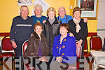 Enjoying the Beaufort Rambling House in the Community Centre on Saturday night were Ann Cusack, Eileen Daly, Coleman Savage, Joan Herlihy, Doreen and Les Nolan and Joan O'Connor.....................