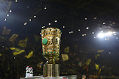 February 5th 2019, Dortmund, Germany, German DFB Cup round of 16, Borussia Dortmund versus SV Werder Bremen;   the DFB Cup in front of the Dortmund fans